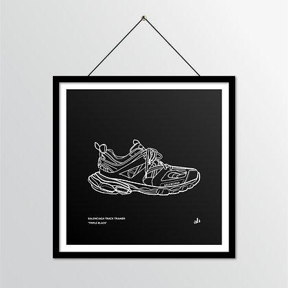 Balenciaga Track Trainer - illustratie