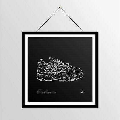 Maison Margiela fusion sneaker - illustration