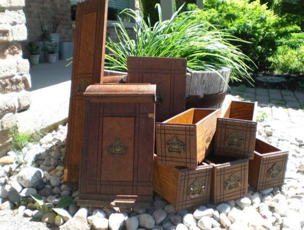 Aproveitando móveis antigos