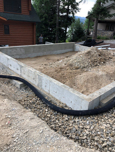 French drain garage pad.jpg