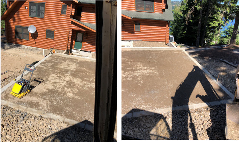 Finished garage pad with drainage.jpg