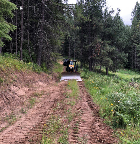 Initial grading of private drive.jpg