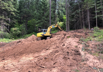 Excavate for building pad.jpg