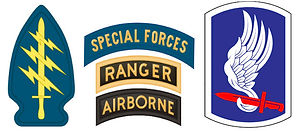 Special Forces Ranger Airborne Patches.j