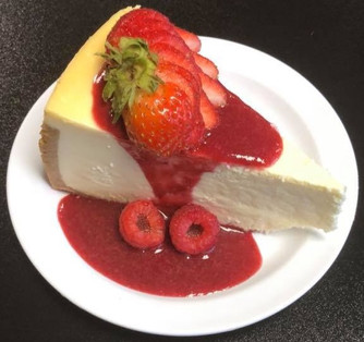 Babalu's Berry Cheesecake