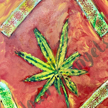 IS THERE MAGIC IN CANNABIS ART?