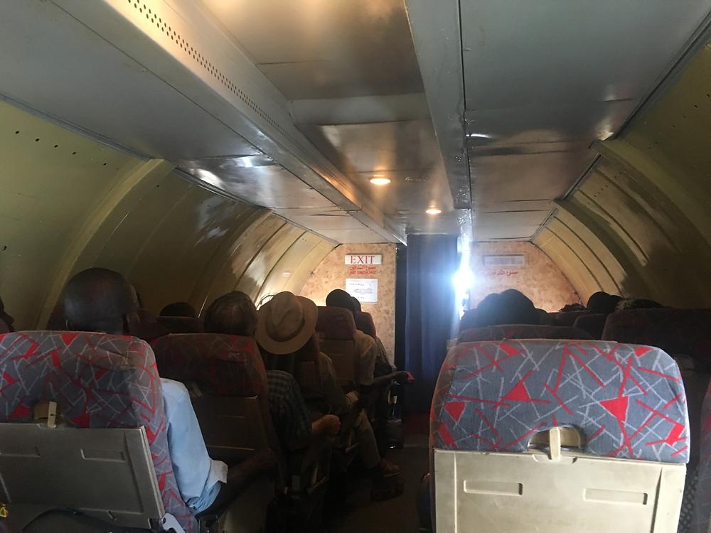 Flight to Yida