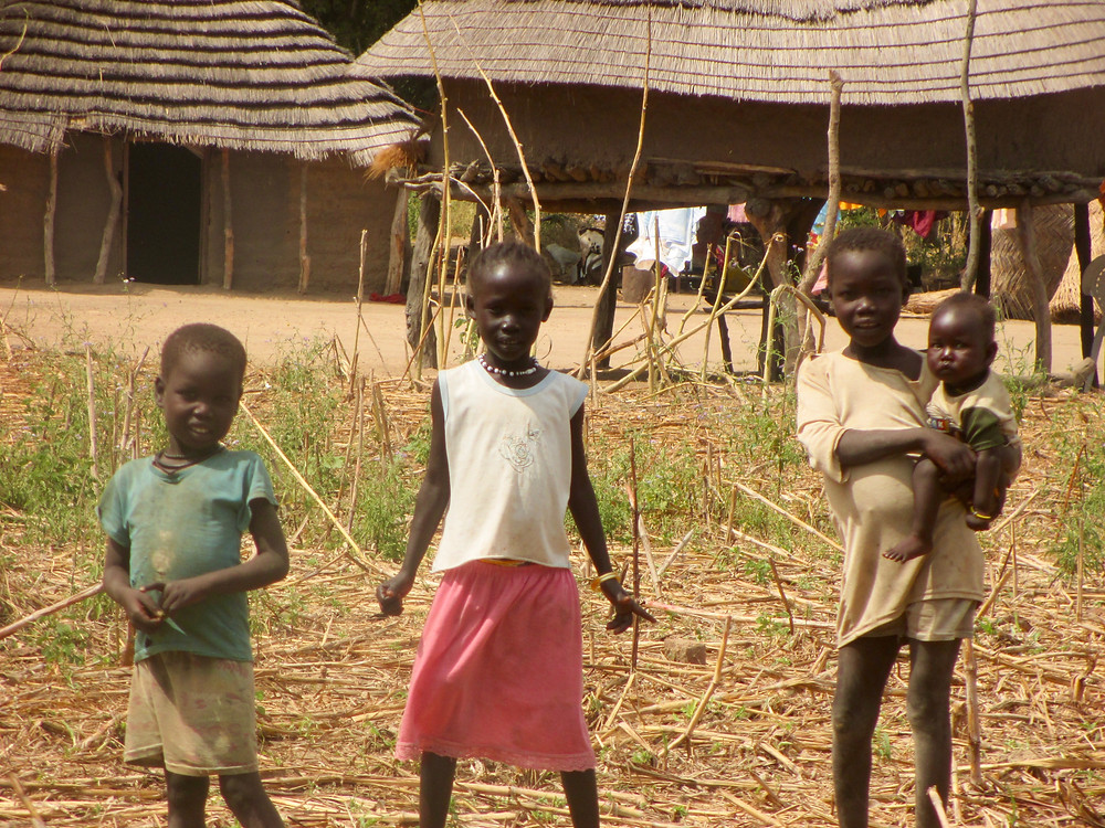 Some of the sweetest faces in Akuak Rak, South Sudan.