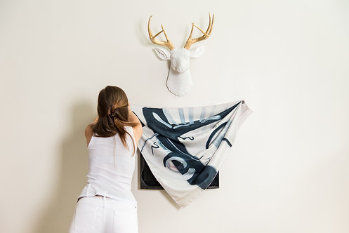 Scarf Wall Hanging System - 1 Pack