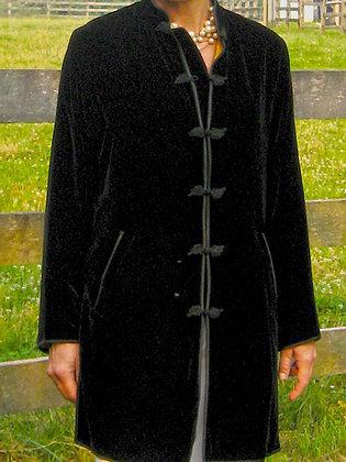 Short Tunic of Silk Velvet