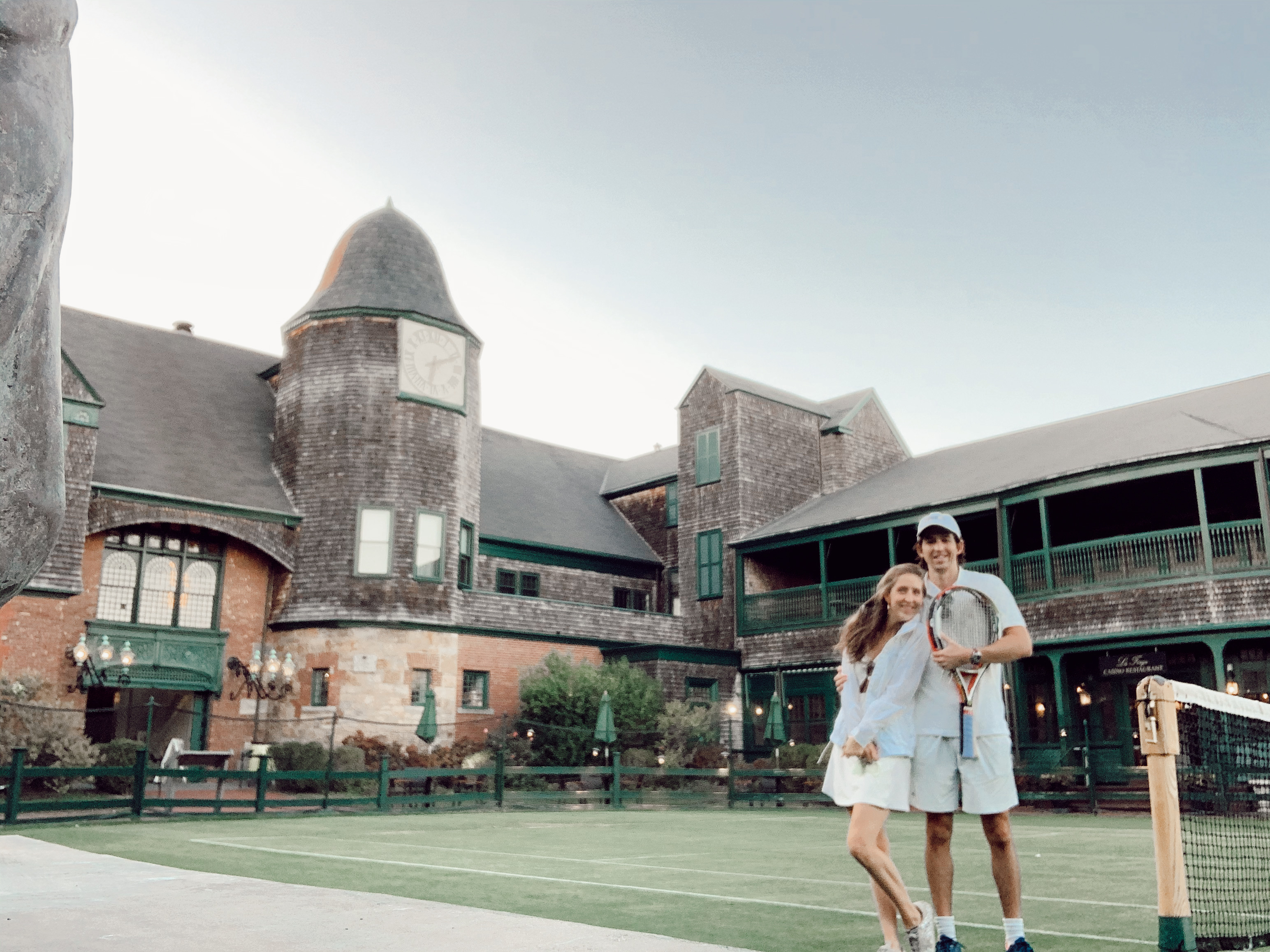 Couldn't miss a moment at Tennis Hall of
