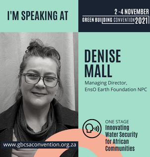 EnsO Earth on the ONE STAGE at the 2021 Green Building Convention - Cape Town