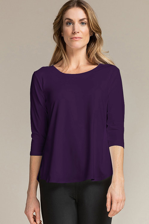 Sympli Go to Classic T Relax 3/4 Sleeve