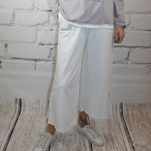Fenini Eggshell Cropped Pant