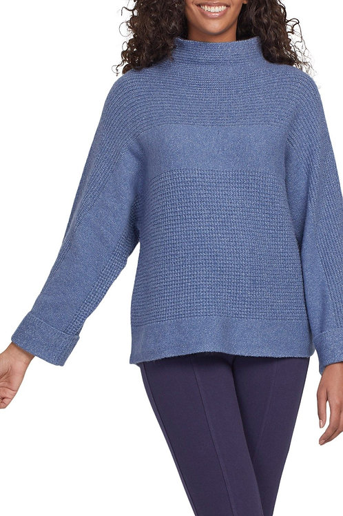 Tribal Funnel Neck Sweater