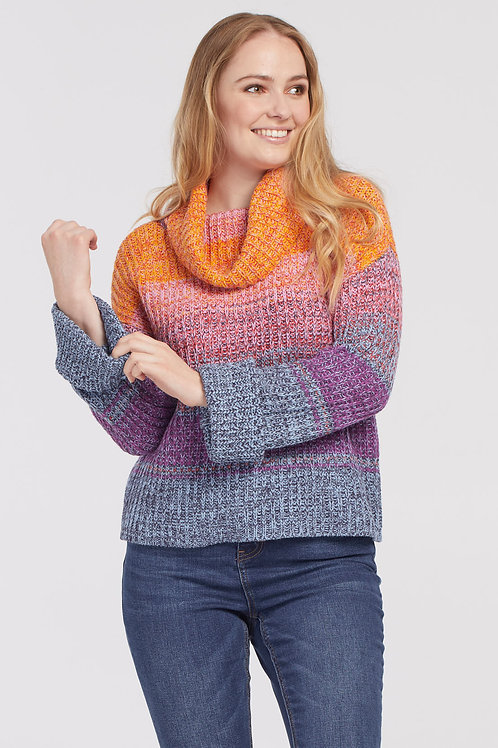 Tribal Colorful Knit Sweater