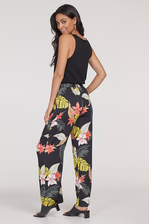 Tribal Tropical Wide Leg Pant