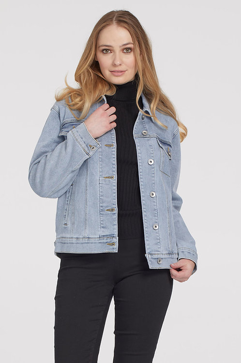 Tribal Boyfriend Jean Jacket