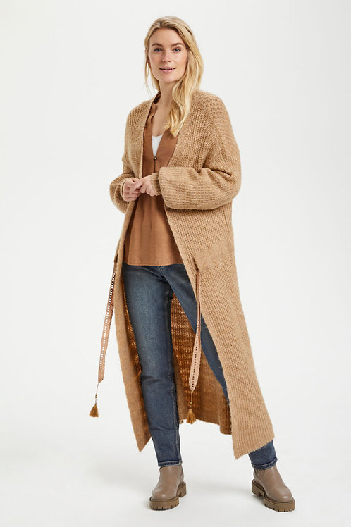 TOASTED COCONUT LONG CARDIGAN