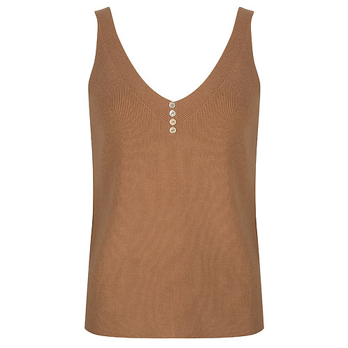 Esqualo Knit V Neck Cami