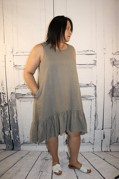 Bryn Walker Linen Ocelot Dress