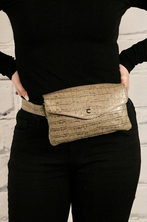 Mathilde C Leather Belt Bag