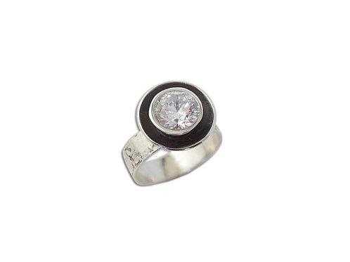 Karyn Chopik Crystal Vibration Ring