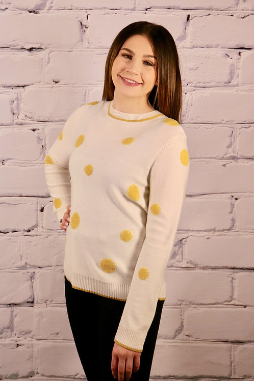 Gabby Polka Dot Sweater