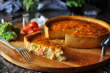 Nossack Broccoli Quiche