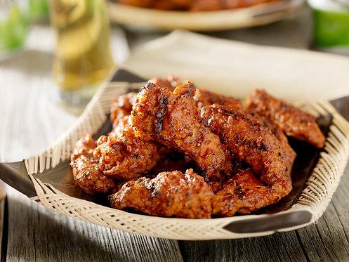 Hot Breaded Chicken Wings