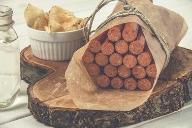 50530 Honey Garlic Pepperoni Packaging - 500g