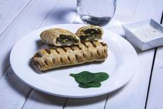 Spinach + Cheddar Roll