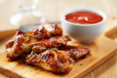 Cooked Glazed Wings