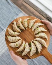 Sesame Ginger Chicken Gyoza