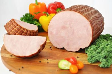 Smoked Western Toupie Style Ham