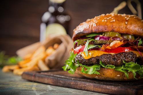 Beef Burgers, Classic 4oz