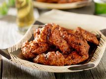 Hot Breaded Wings