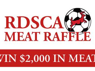 RDCSA Spring Meat Raffle!