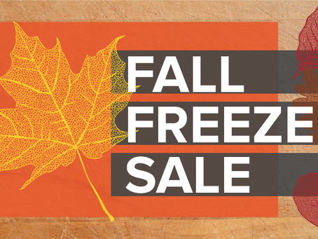 Fall Freezer Sale!