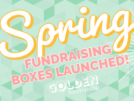Spring Fundraisers Launched!