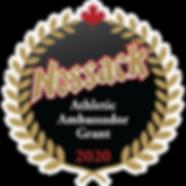 Nossack Athletic Ambassador Grant Logo