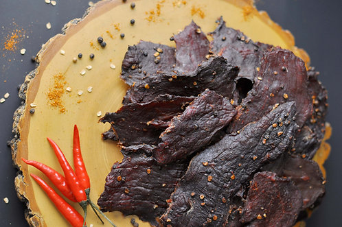 Hot Peppered Beef Jerky - Snack Size