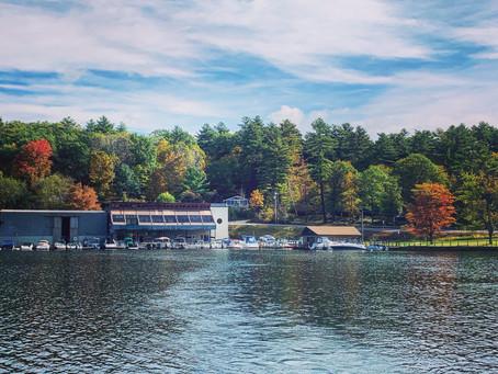 More Fall Foliage on Lake George