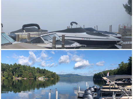 Weather Changes Fast on Lake George