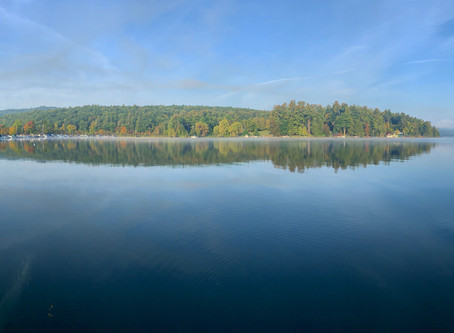 Fall on Lake George