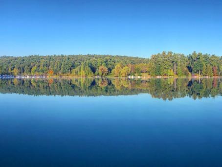 Dunhams Bay on a Calm Morning