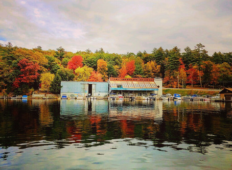 Fall at Queen Boat Co