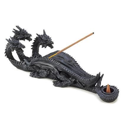 3-head Dragon Incense Holder