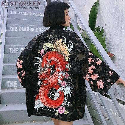 Japanese Kimonos Cardigan Kimono 2019 Summer Kimono Yukata Japanese  AA3858 Y A