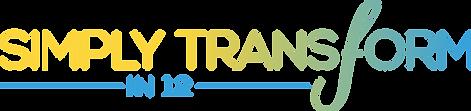 Jenn Benson Simply Transform in 12 Logo